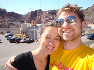 With Darren at the Hoover Dam