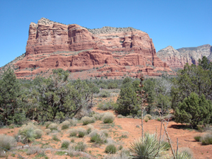 Bell Rock, at one of the vortexes in Sedona, AZ